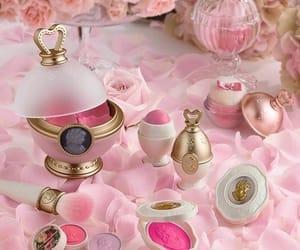 makeup, tumblr, and pink image