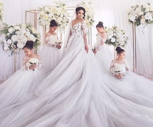 bride, fashion, and vogue image