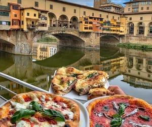 firenze, italia, and food image