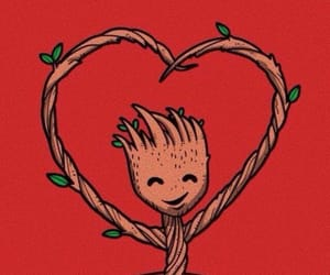 kawaii, groot, and cute image