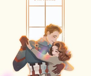 art, Avengers, and couple image