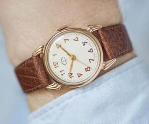 etsy, rose gold watch, and minimalist watch image