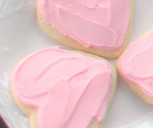 food, pink, and soft image