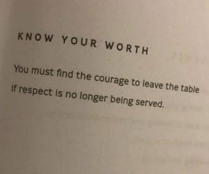 courage, qoute, and respect image