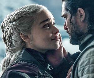 Jon, game of thrones, and jon snow image