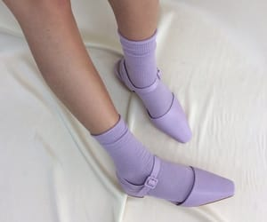 purple, shoes, and aesthetic image