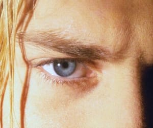 kurt cobain, nirvana, and blue eyes image