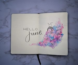 bujo, bullet journal, and plan with me image