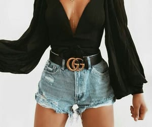 gucci, outfit, and black image