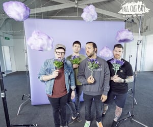 band, FOB, and flowers image
