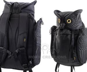 backpack and owl image
