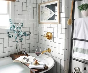 bathroom, interior design, and classy image