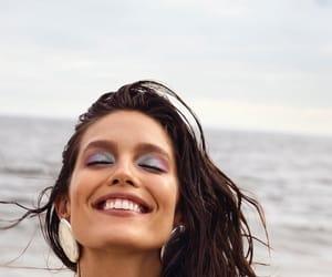 beach, fashion, and magazine image