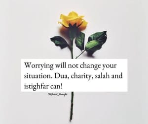 pray, worry, and istaghfar image