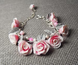 cernit, charm bracelet, and clay image