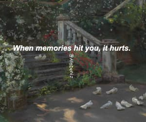 memories, frases, and hurt image