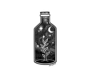 art, artist, and bottle image