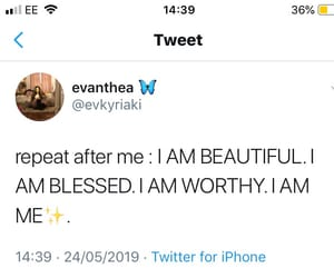 happiness, self love, and blessings image