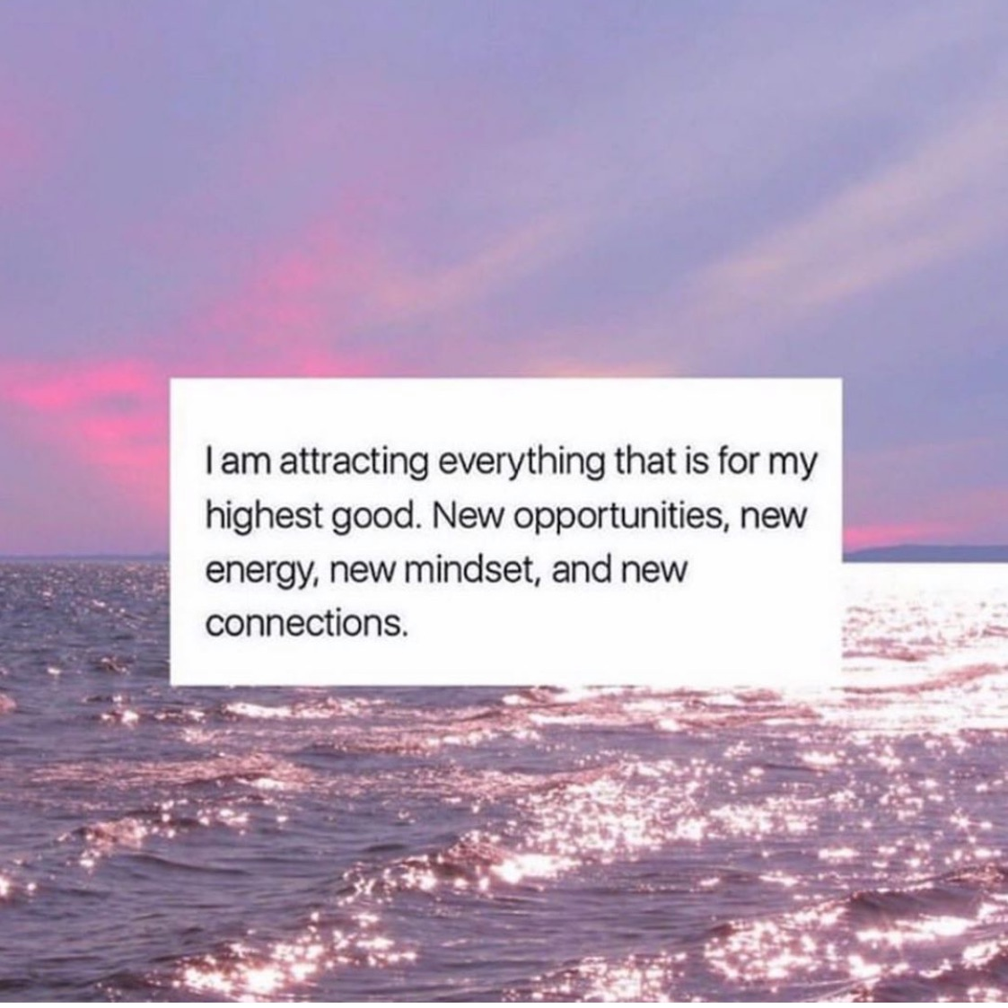 affirmation, healthy, and law of attraction image