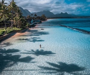 beach, travel, and nature image