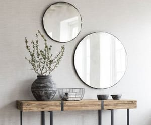 aesthetic, grey, and mirror image