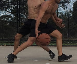 Basketball, goals, and dream man image