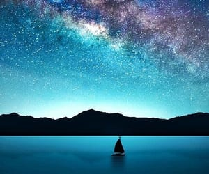 cielo, mar, and paisaje image