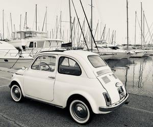 car, fiat, and vintagecar image