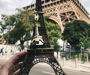 collections, tags, and eiffel tower image