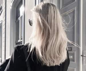 hair, fashion, and bag image