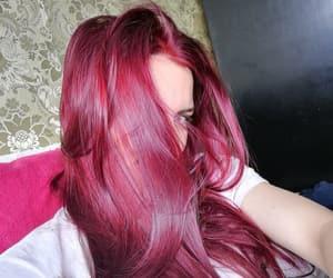 fire, haircut, and long hair image