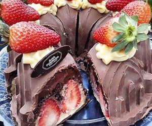 bakery, cake, and chocolate image