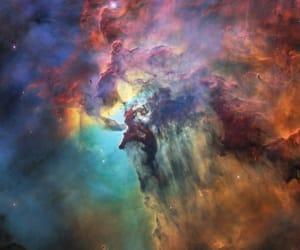 galaxy, nasa, and space image