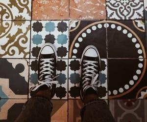 black, converse, and mosaico image