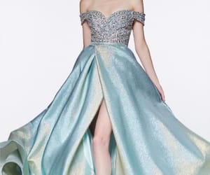 aesthetic, blue, and dress image