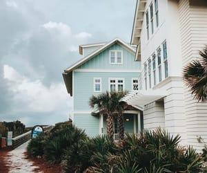 beach, beach house, and california image