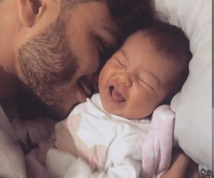 baby, morning, and smile image