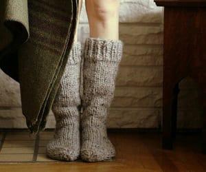 fashion, socks, and style image