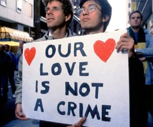 activism, couple, and boys image