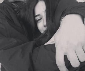 blackwhite, couple, and happy image