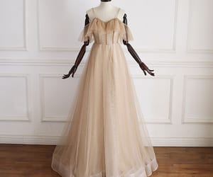 long dress, prom dress, and formal dresses image