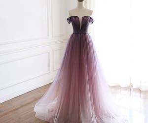 prom dress, tulle dress, and formal dresses image