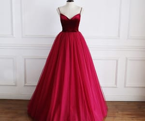 long dress, tulle dress, and formal dresses image