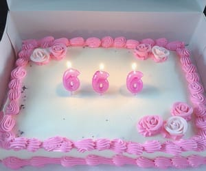 cake, 666, and pink image