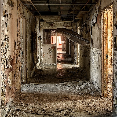 abandoned, photography, and decay image
