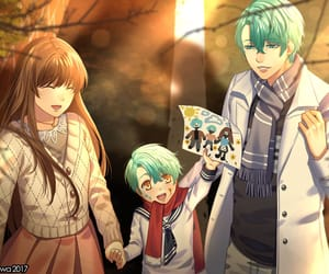 Mc, v, and otome game image