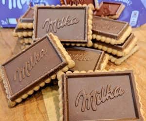 dessert, food, and milka image