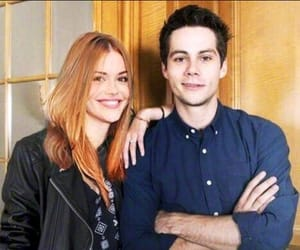 dylan o'brien, teen wolf, and holland roden image