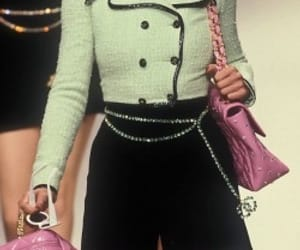 90s, fashion, and runway image