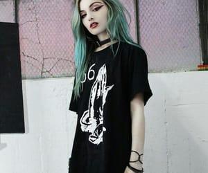 hair, alternative, and grunge image